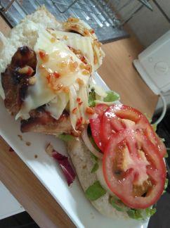 Food - chicken burger